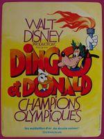 Affiche Dingo et Donald champions Olympiques