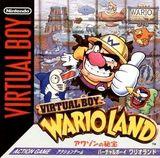 Jaquette Virtual Boy Wario Land