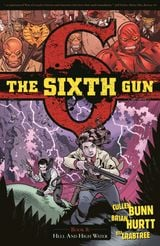 Couverture Hell and High Water - The Sixth Gun, Volume 8