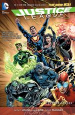 Couverture Justice League Vol. 5: Forever Heroes