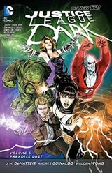 Couverture Paradise Lost - Justice League Dark, tome 5