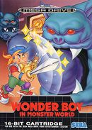 Jaquette Wonder Boy in Monster World