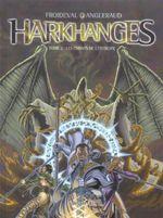 Couverture Les Chants de l'entropie - Harkhanges, tome 2