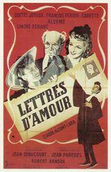 Affiche Lettres d'amour