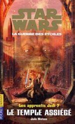 Couverture Le Temple assiégé - Les Apprentis Jedi, tome 7