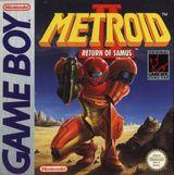 Jaquette Metroid II : Return of Samus