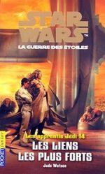 Couverture Les Liens les plus forts - Les Apprentis Jedi, tome 14