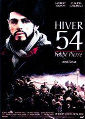 Affiche Hiver 54, l'abbé Pierre