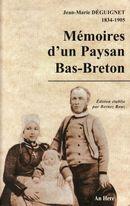 Couverture Mémoires d'un paysan bas-breton