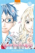 Couverture Your Lie in April
