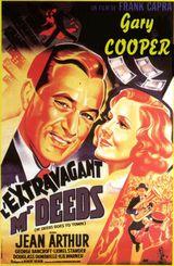 Affiche L'extravagant M. Deeds
