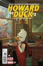 Couverture Howard the Duck (2015)