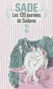 Couverture Les 120 journées de Sodome