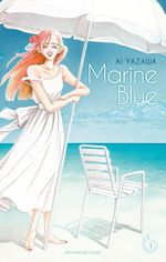 Couverture Marine Blue - Tome 01