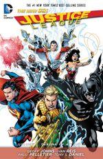 Couverture Justice League Vol. 3: Throne of Atlantis