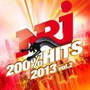 Pochette NRJ 200% Hits 2013, Volume 2