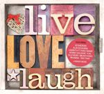 Pochette Live, Love, Laugh