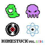 Pochette Homestuck, Vol. 1-4