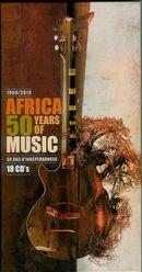 Pochette 1960-2010: Africa, 50 Years of Music