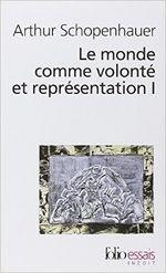 Couverture Le monde comme volonté et représentation volume 1