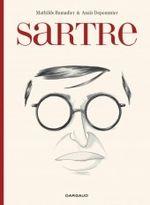 Couverture Sartre - Une existence, des libertés