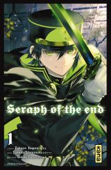 Couverture Seraph of the End