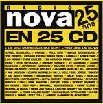 Pochette 25 ans de Radio Nova