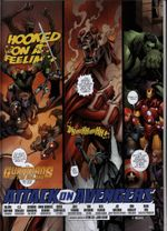Couverture Attack on Avengers