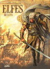 Couverture Elfe blanc, cœur noir - Elfes, tome 3