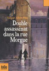 Couverture Double assassinat dans la rue Morgue