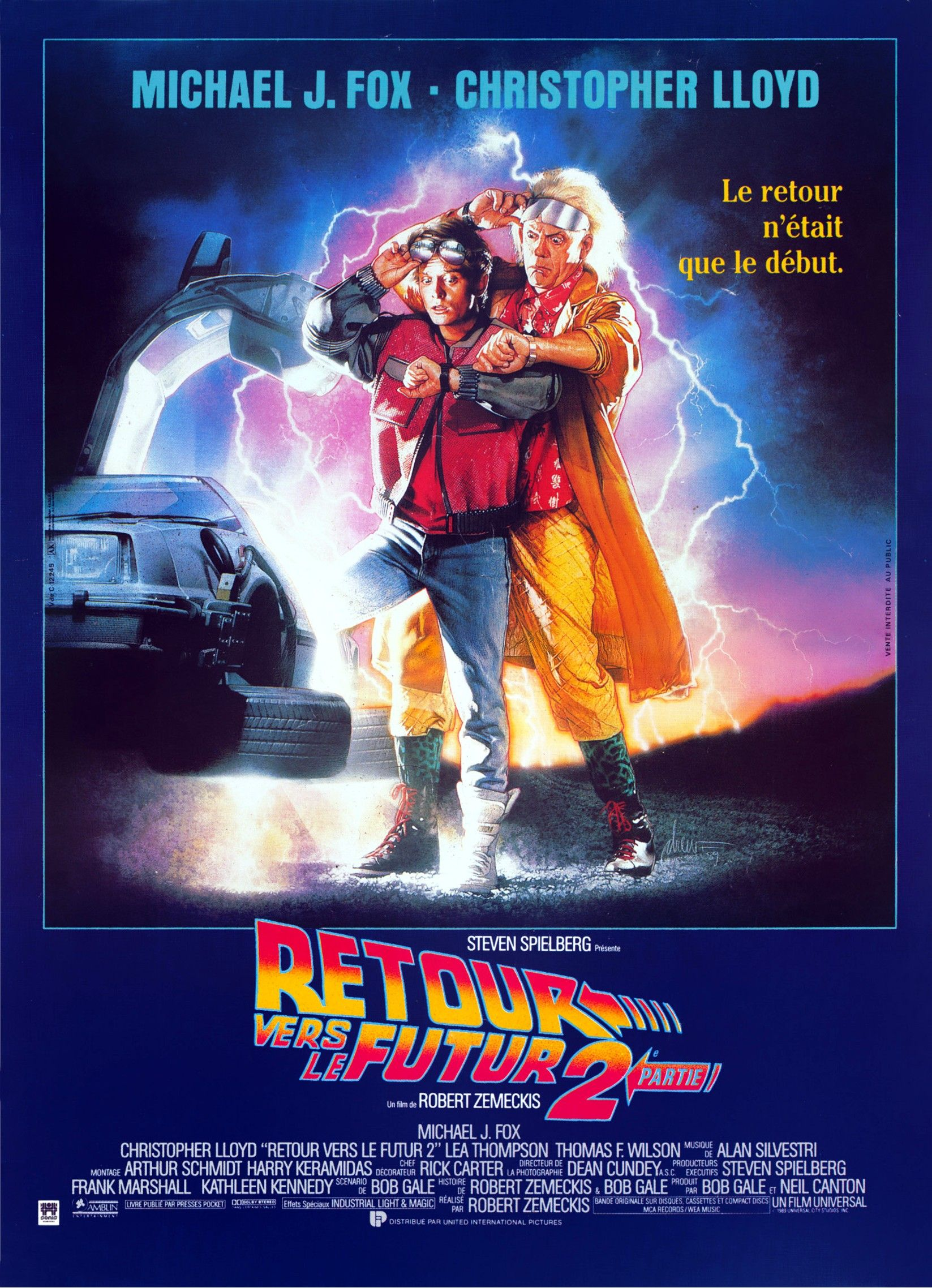 Retour vers le futur 2 1989 back to the future part ii 1 2 3 4 5 6