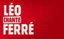 Pochette Léo chante Ferré