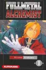 Couverture Fullmetal Alchemist, tome 1