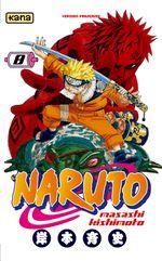 Couverture Naruto, tome 8