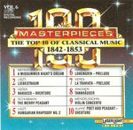 Pochette 100 Masterpieces, Volume 6: The Top 10 of Classical Music 1842-1853