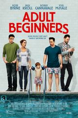 Affiche Adult Beginners