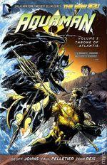 Couverture Throne of Atlantis - Aquaman Vol. 3