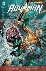 Couverture Aquaman Vol. 5: Sea of Storms