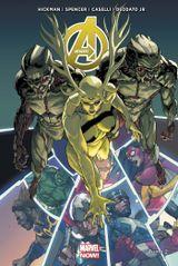 Couverture Prélude à Infinity - Avengers (2013), tome 3