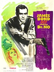 Affiche James Bond 007 contre Dr. No