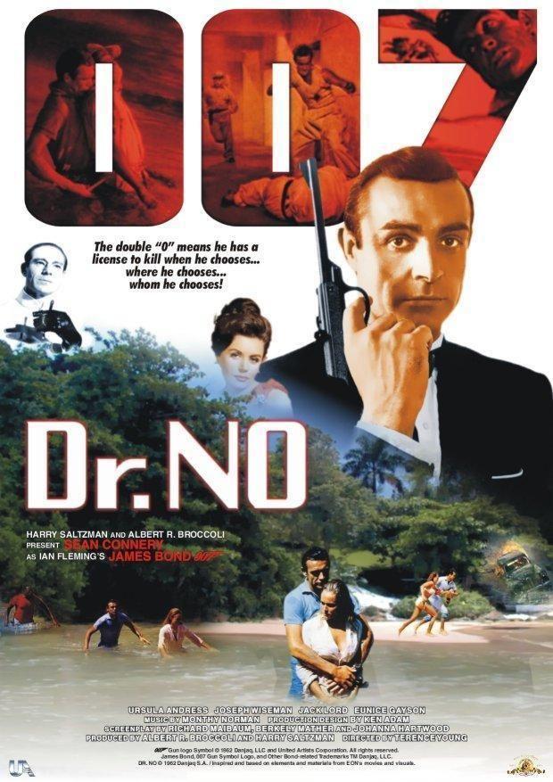 affiches posters et images de james bond 007 contre dr