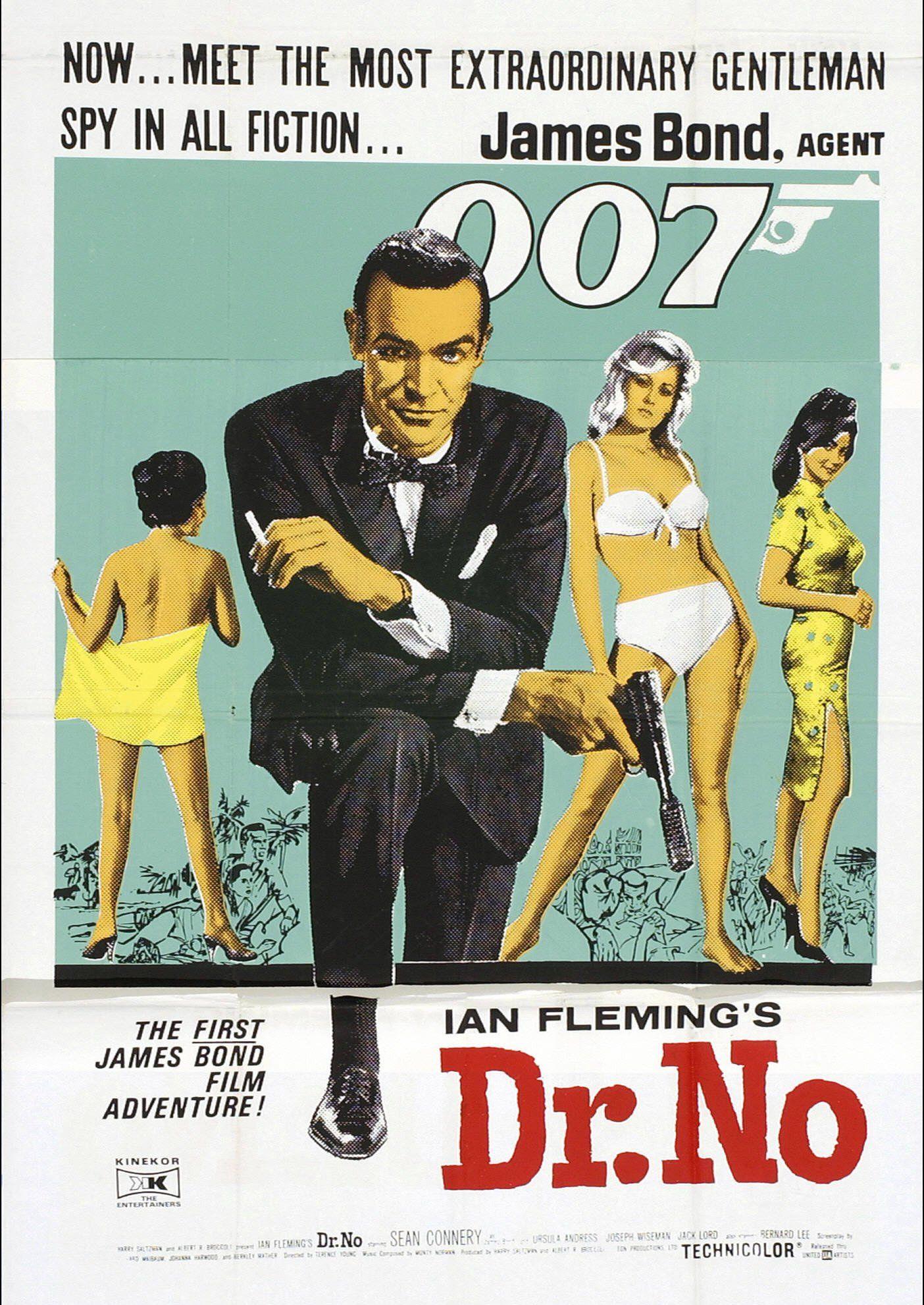 Affiches, posters et images de James Bond 007 contre Dr