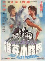 Affiche Acrobatique Kung Fu contre Gang Noir