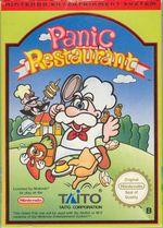 Jaquette Panic Restaurant