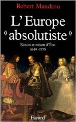 Couverture L'Europe absolutiste