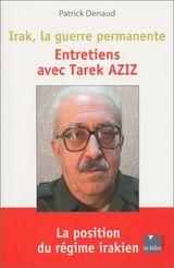 Couverture Entretiens avec Tarek Aziz