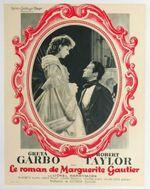 Affiche Le Roman de Marguerite Gautier