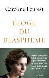 Couverture Éloge du blasphème