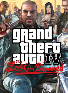 Jaquette Grand Theft Auto IV : The Lost and Damned
