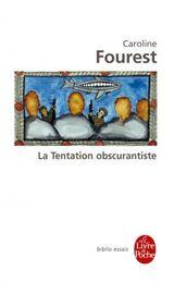 Couverture La Tentation obscurantiste
